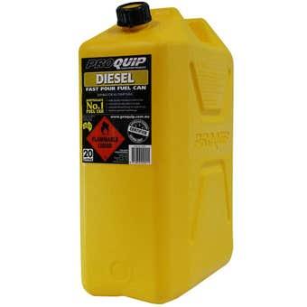 Pro Quip Plastic Diesel Jerry Can 20L