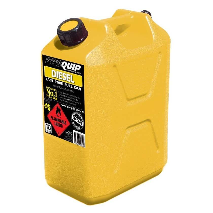Pro Quip Plastic Diesel Jerry Can 10L