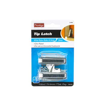Prestige Tip Latch Zinc Plated - 2 Pack
