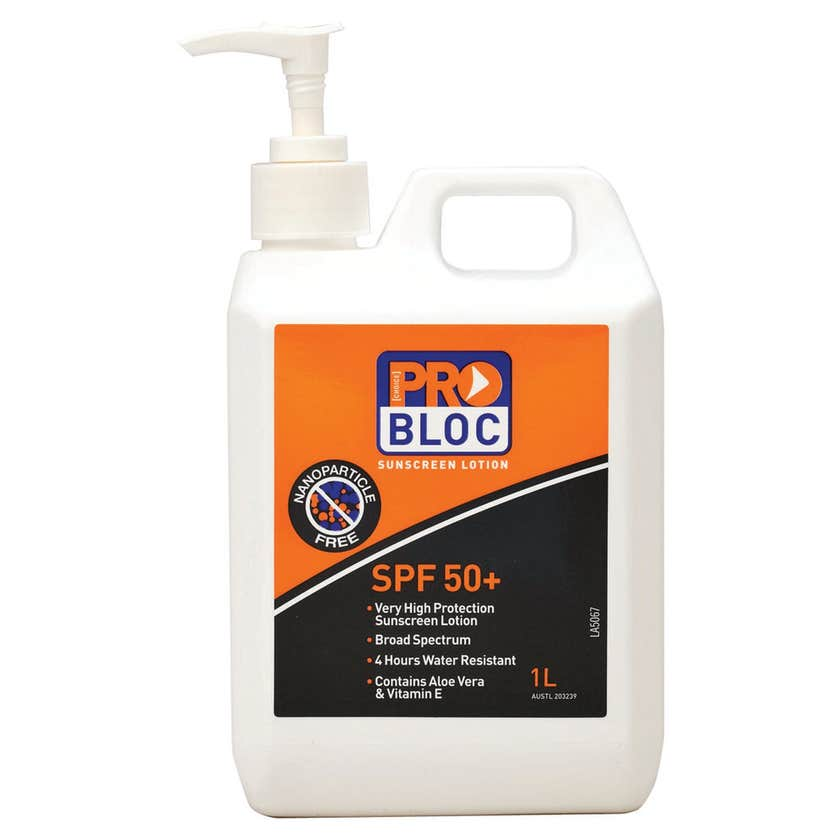 ProChoice Bloc SPF 50+ Sunscreen Lotion 1L