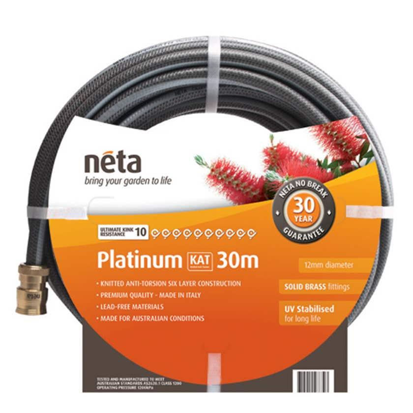 Neta Platinum KAT Fitted Hose 30m x 12mm