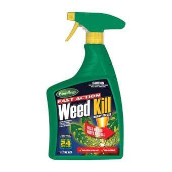Brunnings Fast Action Weed Kill Spray 1L