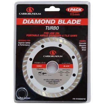 Carborundum Turbo Diamond Blade 115mm