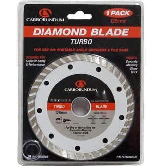 Carborundum Turbo Diamond Blade 125mm