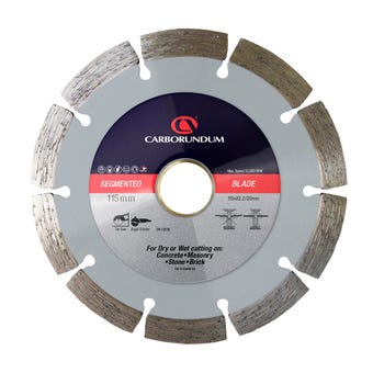 Carborundum Segmented Diamond Blade 115 x 22.2/20mm