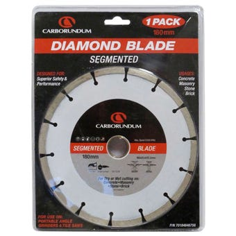 Carborundum Diamond Blade Segment 180mm