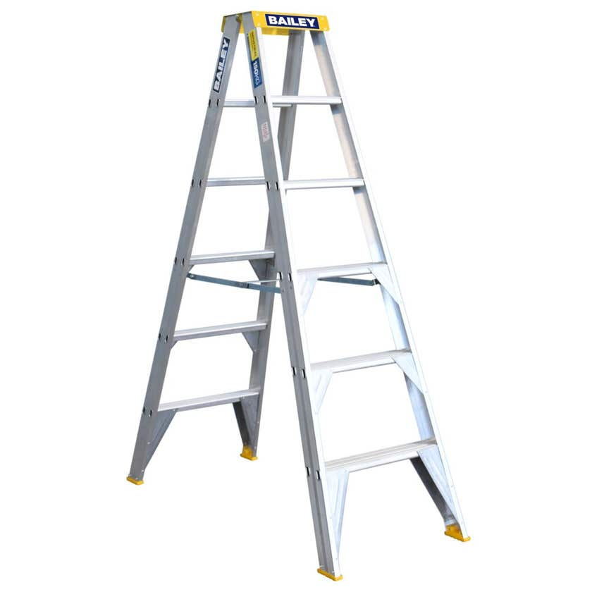 Bailey Pro Double Sided Ladder 150kg Industrial 1.8M