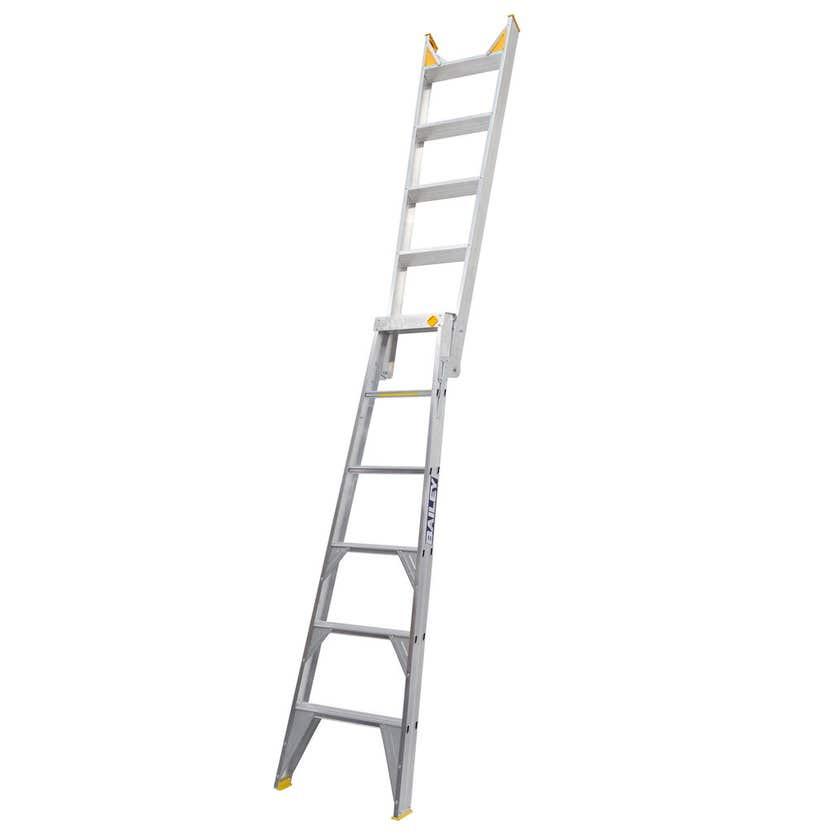 Bailey Pro Dual-Purpose 6 Step Ladder Industrial 150kg 1.8M - 3.2M