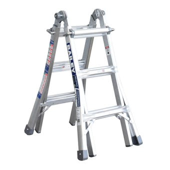 Bailey BXS13 Multipurpose Ladder 1.7m/3.3m 135kg Industrial