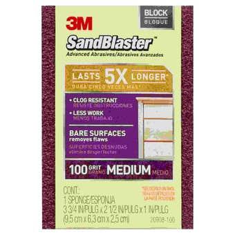 Sandblaster Sanding Block 100 Grit