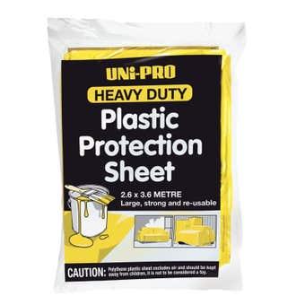Uni-Pro Heavy Duty Plastic Protection Sheet