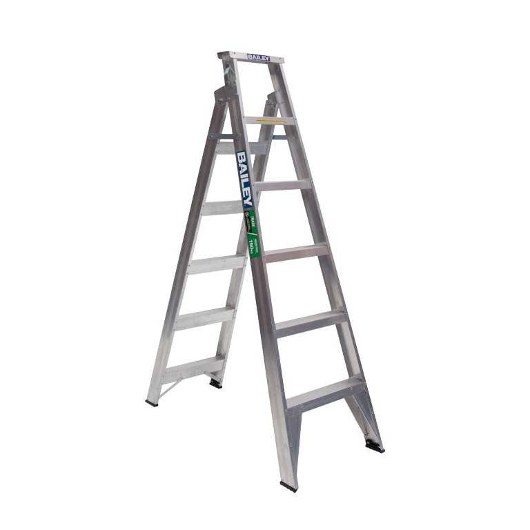 Bailey Trade Aluminium Dual Purpose Ladder 1.8m 150kg Industrial