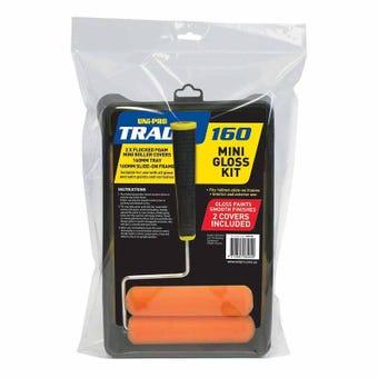 Uni-Pro Trade Gloss & Satin Mini Roller Kit 160mm