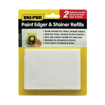 Uni-Pro Paint Edger & Stainer Refill - 2 Pack
