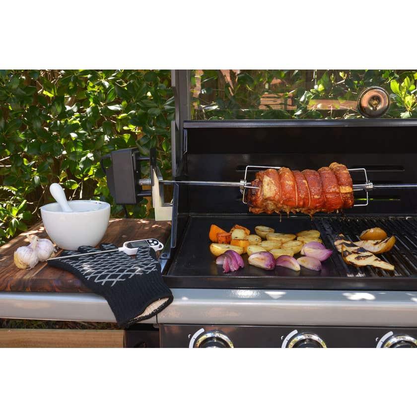 Grillman Electric Rotisserie BBQ Kit