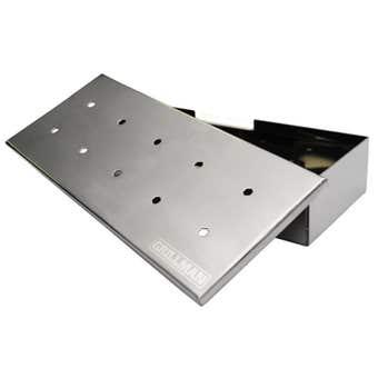 Grillman Stainless Steel Smoker Box
