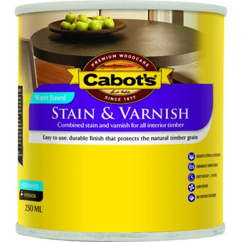 Cabot's Stain & Varnish Water Based Gloss Tint Base 250ml