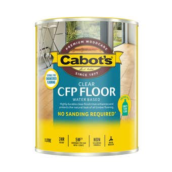 Cabot's CFP Floor Water Based Satin 1L