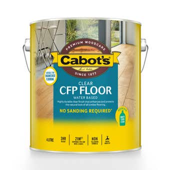 Cabot's CFP Floor Water Based Gloss 4L