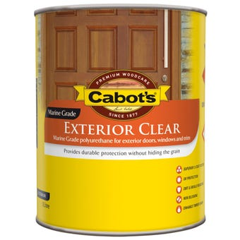 Cabot's Exterior Satin Clear 1L