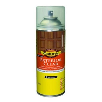 Cabot's Exterior Clear Satin 300g