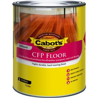 Cabot's CFP Floor Oil Based Satin 1L