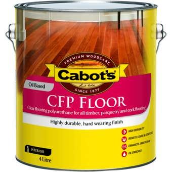 Cabot's CFP Floor Oil Based Satin 4L