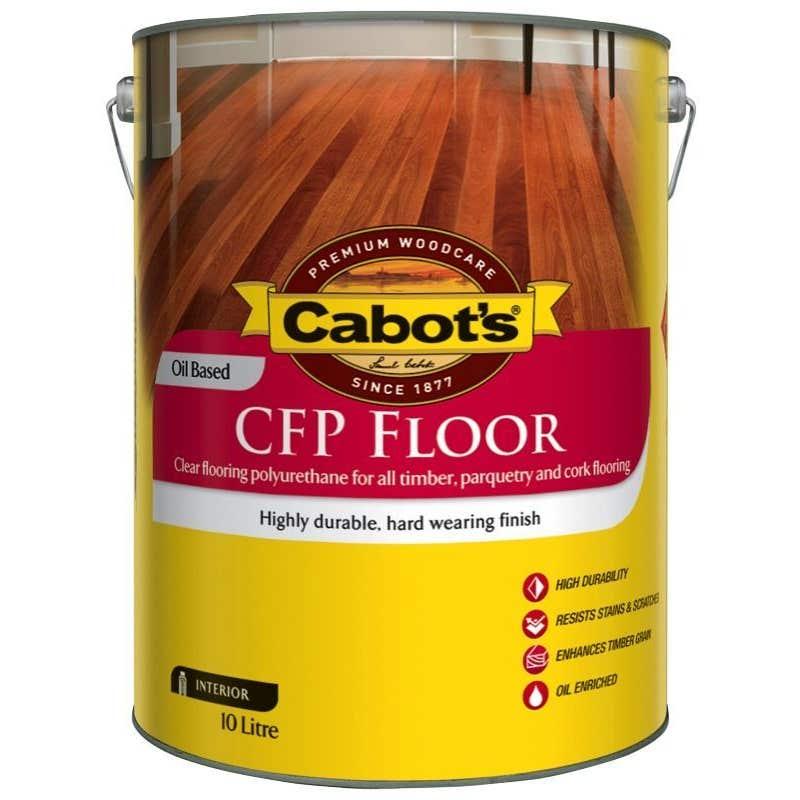 Cabot's CFP Floor Oil Based Satin 10L
