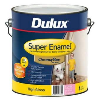 Dulux Super Enamel High Gloss Extra Bright Base 4L