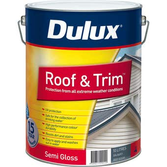 Dulux Weathershield Roof And Trim Semi Gloss Deep Ocean 10L