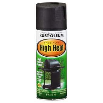 Rust-Oleum High Heat BBQ Black 340g