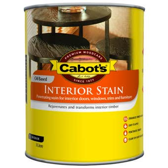 Cabot's Interior Stain Oil Based Tint Base 1L