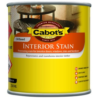 Cabot's Interior Stain Oil Based Jarrah 250ml