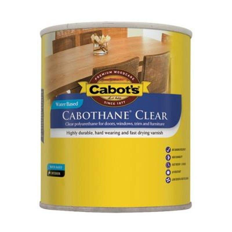 Cabot's Cabothane Clear Water Based Satin 250ml