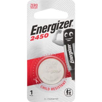 Energizer 2450 Lithium Coin Battery 1 Pack
