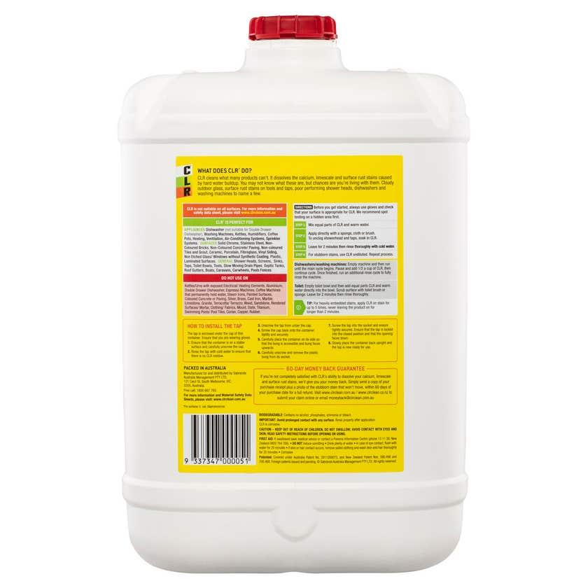 CLR Calcium Lime & Rust Remover 20 Litre