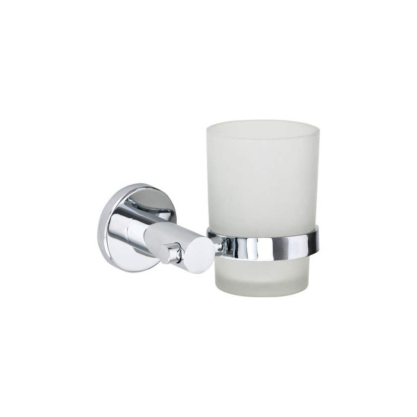 Interbath Tumbler Cup Holder Chrome