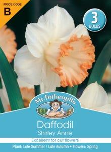 Mr Fothergill's Bulbs Daffodil Shirley Ann
