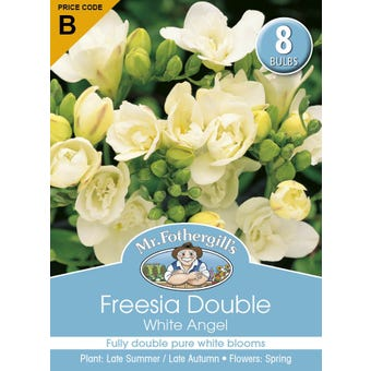 Mr Fothergill's Bulbs Freesia Double White Angel 8 Bulbs
