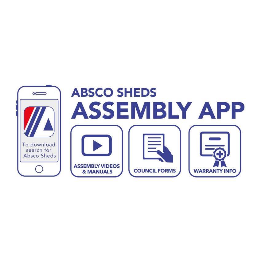 Absco Garden Shed Skylight 1545 x 330mm