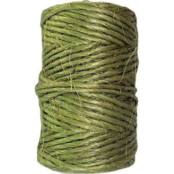 Medalist Green Sisal Garden Rope 65m