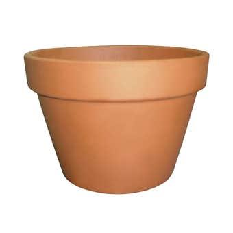 Northcote Pottery Italian Squat Pot Terracotta 150mm