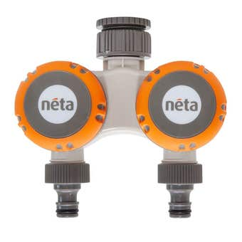 Neta Click On 2 Hour Twin Tap Timer 12mm