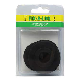 FIX-A-LOO Seating Washer Suits K Valve 10 Pack