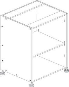 Principal Base Cabinet 500mm