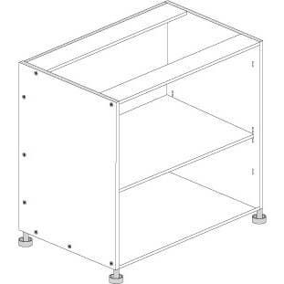Principal Base Cabinet 900mm