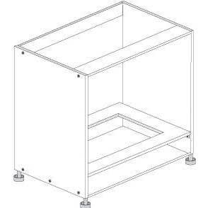 Principal Oven Base Cabinet 900mm