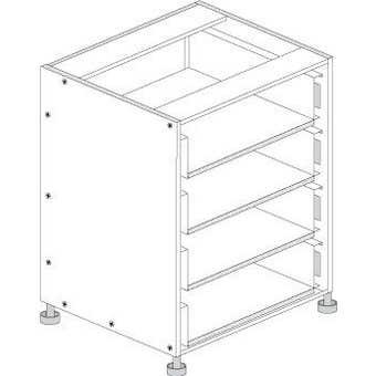 Principal Drawer Cabinet 450mm 4 Drawers Premium