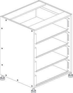 Principal Drawer Cabinet 450mm 4 Drawers Premium