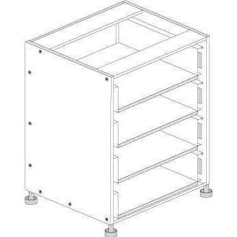 Principal Drawer Cabinet 600mm 3 Drawers Premium